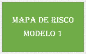modelo 1 de mapa de risco em Excel