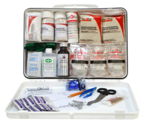 Kit De Primeiros Socorros Na Empresa