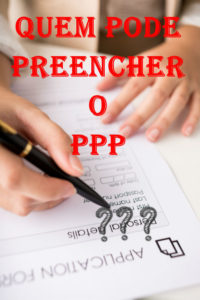 Preenchimento do PPP