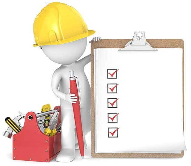 check list da segurança do trabalho ferramentas